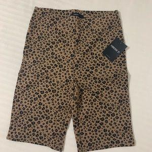 Cheetah Biker Shorts